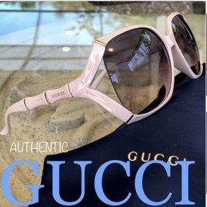 💯 GUCCI 58mm Bamboo Collection sunglasses